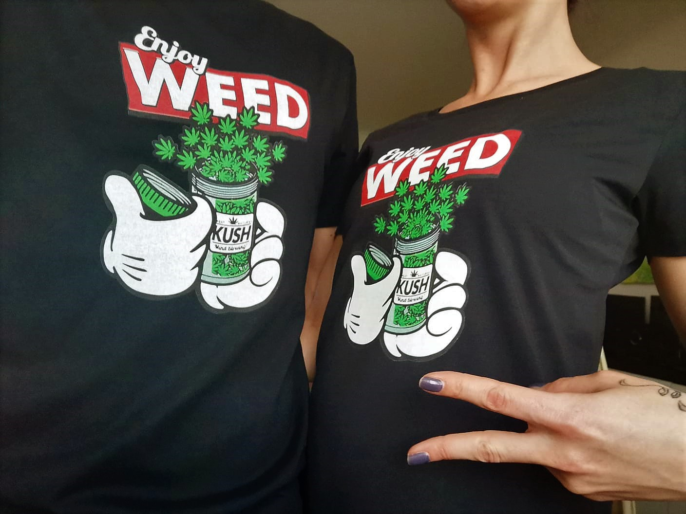 Enjoy Weed Shirt 2018/2019